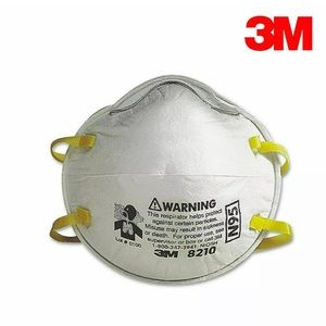 3M N95 8210 Particulate Respirator Mask 2CT pack